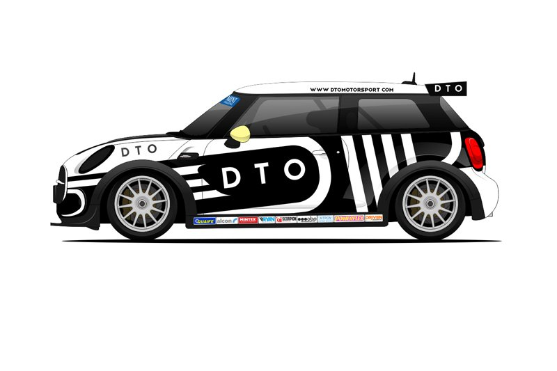MINI COOPER S RACE CAR